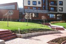Озеленяване на хотел в Банско - Ню Гарден-ESEN-5-0016
