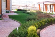 Озеленяване на хотел в Банско - Ню Гарден-ESEN-7-0018
