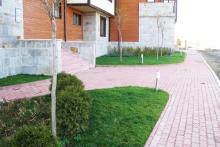 Озеленяване на хотел в Банско - Ню Гарден-ESEN-8-0019