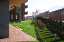 Озеленяване на хотел в Банско - Ню Гарден-ESEN-9-0020