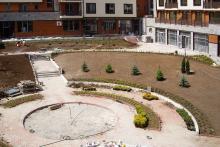 Озеленяване на хотел в Банско - Ню Гарден-NACHALO-18-0041