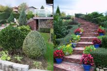 Озеленяване на двор в София, с. Лозен-10-0030