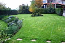 Озеленяване на двор в София, с. Лозен-6-0026