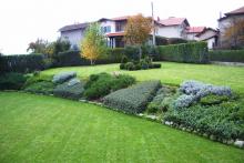 Озеленяване на двор в София, с. Лозен-7-0027