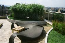 Озеленяване на тераса, София-11-0041