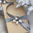 christmas-home-tour-modern-gift-wrap-mini-mercury-glass-ornaments-fur-trimmed-pillow-faux-fur-throw-king-of-christmas-flocked-tree-2