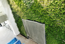 Зелена стена, обект Гора-15