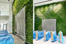 Зелена стена, обект Гора-9